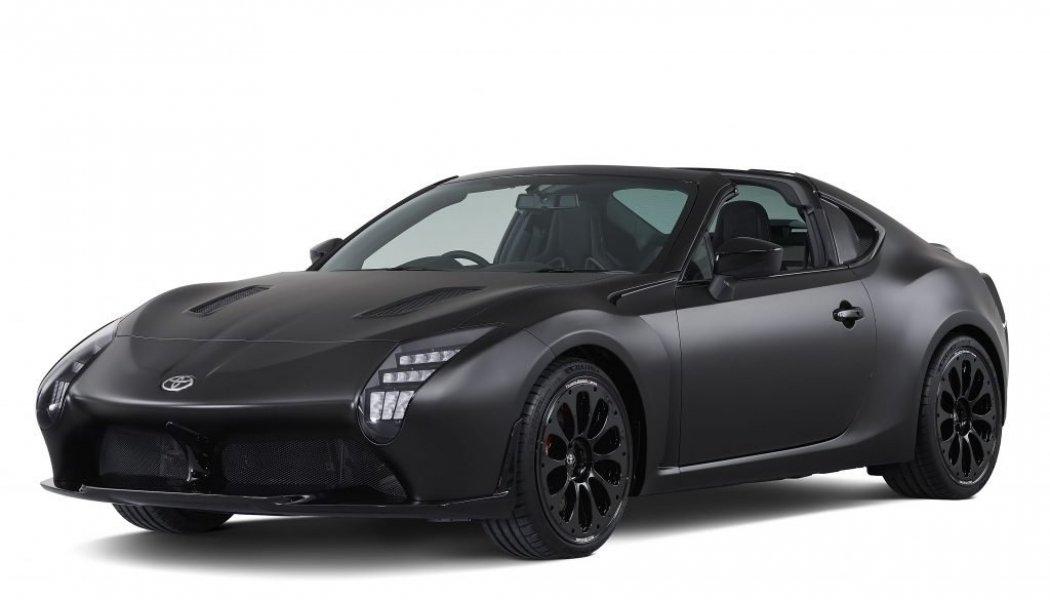 Toyota GR HV Sports Concept: El GT86 con techo targa