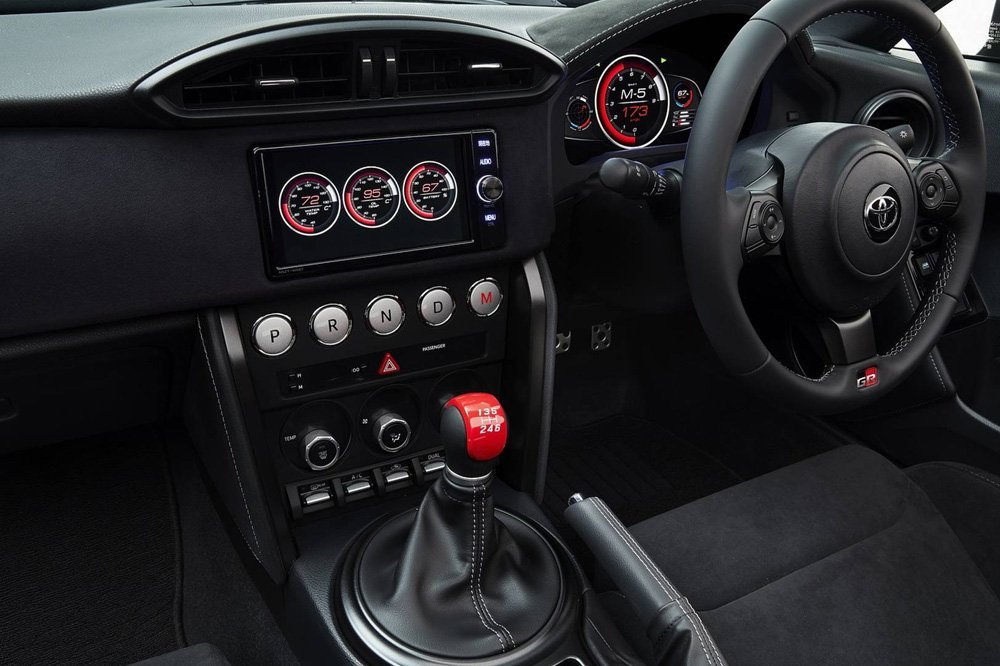 Toyota GR HV Sports Concept Interior