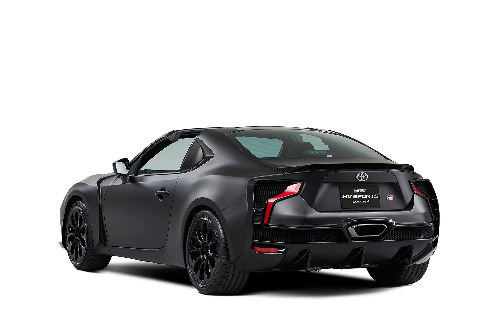 Toyota GR HV Sports Concept Trasera