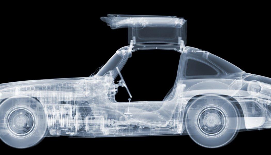 El espectacular resultado de pasar coches por rayos X