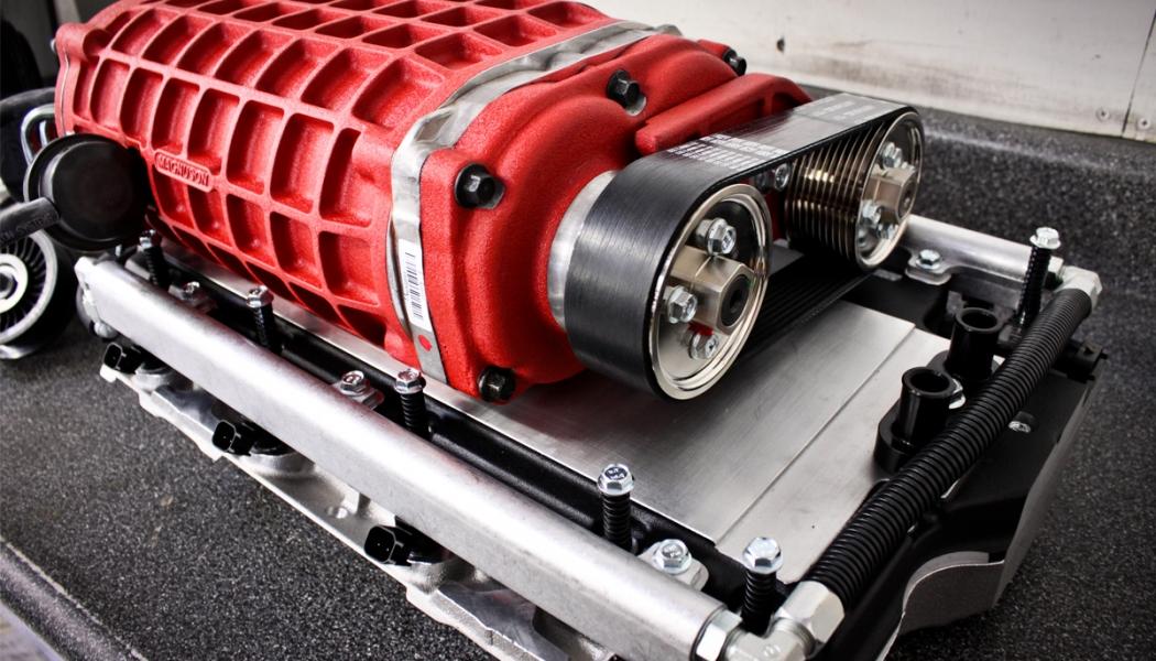 Compresor volumétrico Camaro LS3