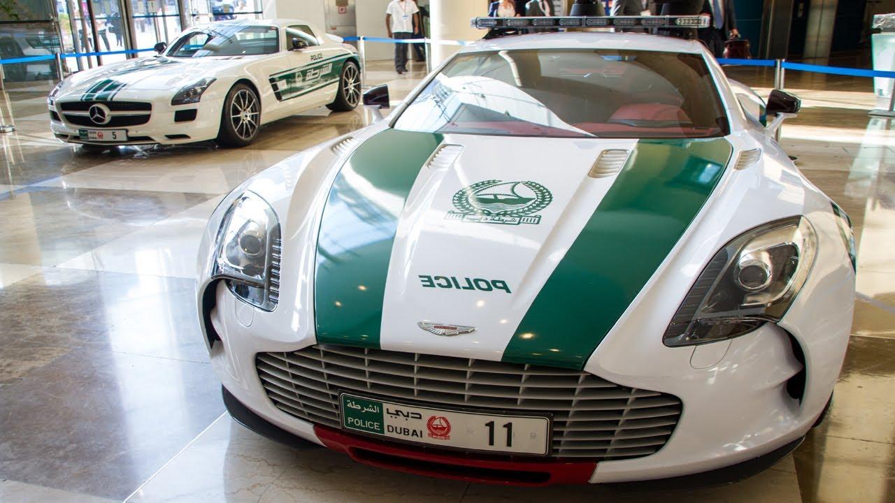 Aston Martin One-77 Policía Dubai
