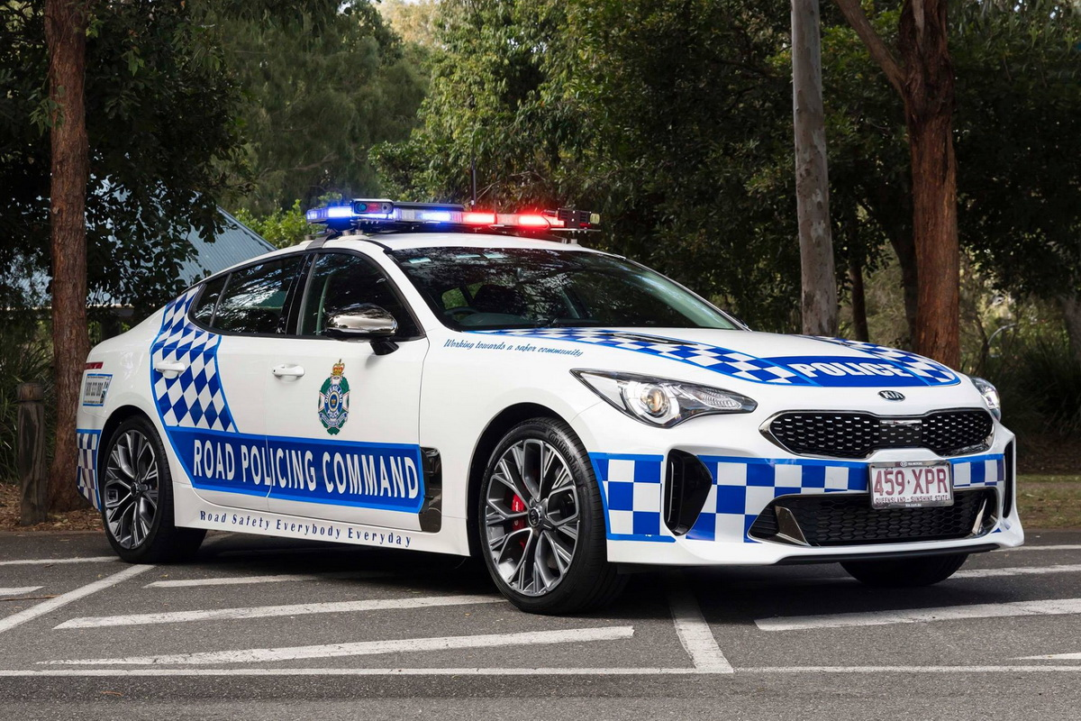 Kia Stinger GT Policía Australia