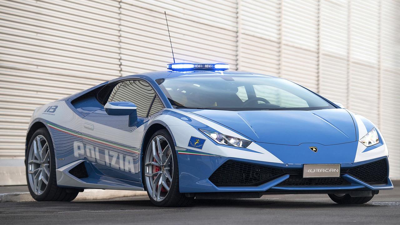Lamborghini Huracán Policía Italia