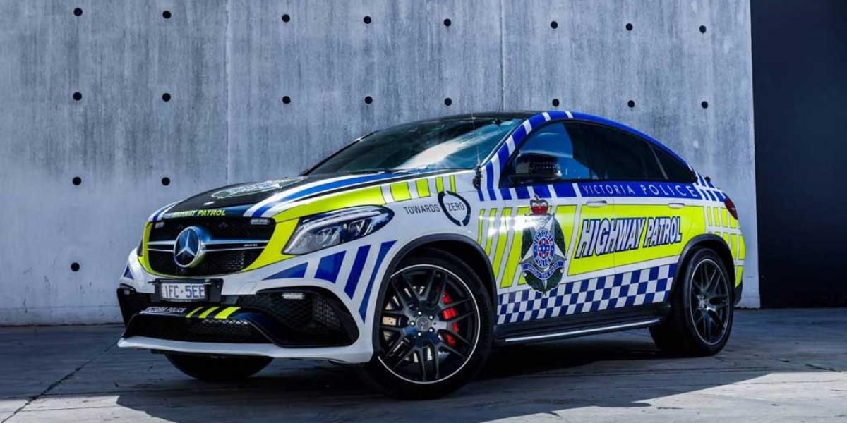 Mercedes AMG GLE63 S Policía Australia