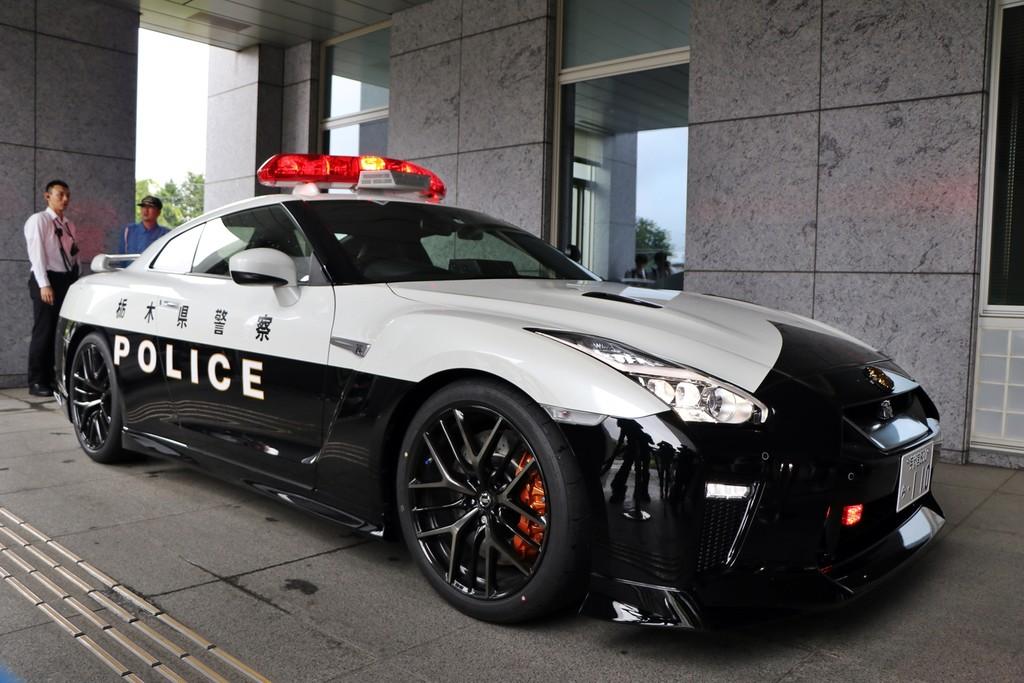 Nissan GTR Policía Japón