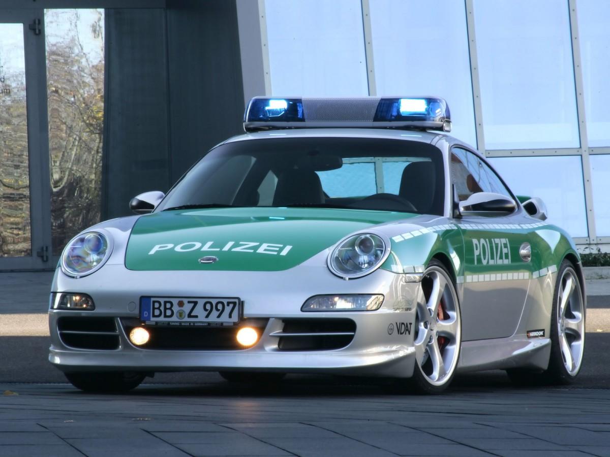 Porsche 911 Carrera Policía Alemania