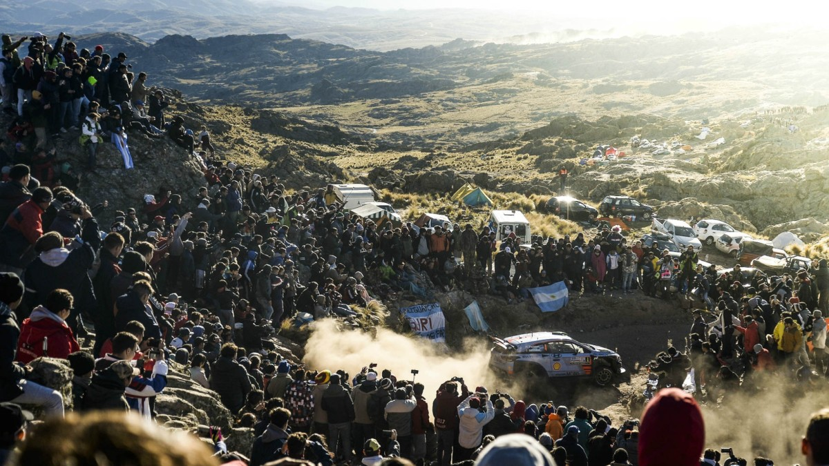 WRC 2018 Rally Argentina