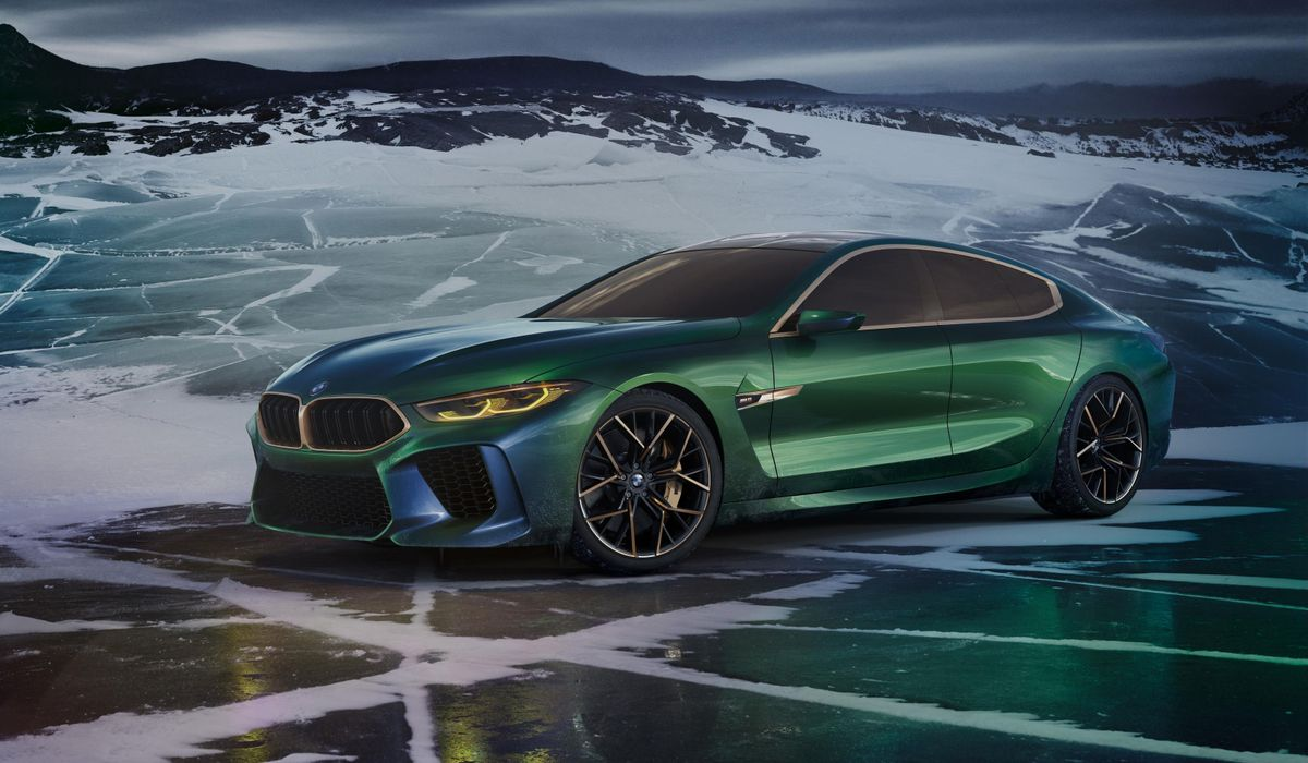 BMW M8 Grand Coupe Concept