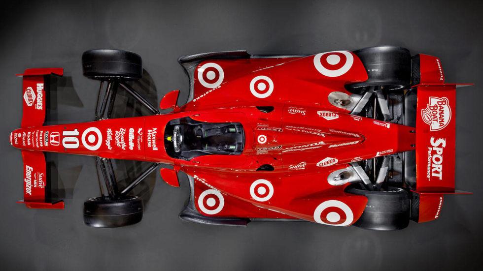 IndyCar visto desde arriba