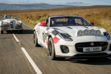 Jaguar F-Type de Rally y XK120