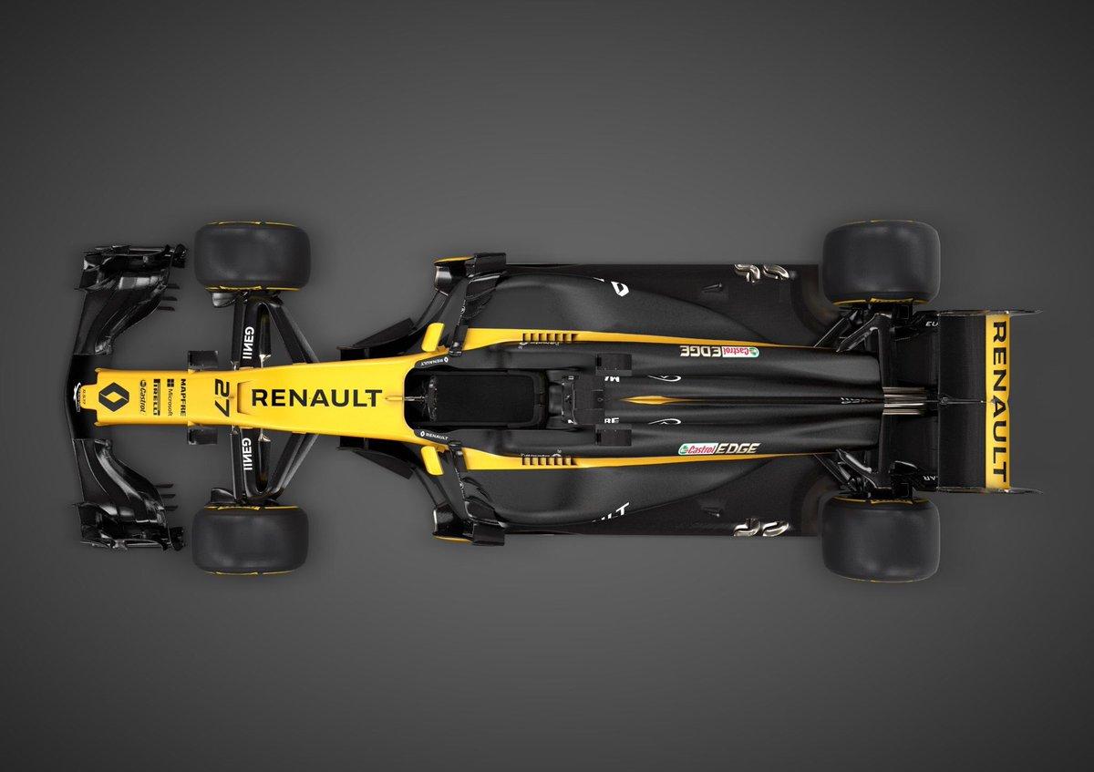 Renault F1 visto desde arriba