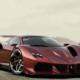 Versión moderna del Ferrari F40