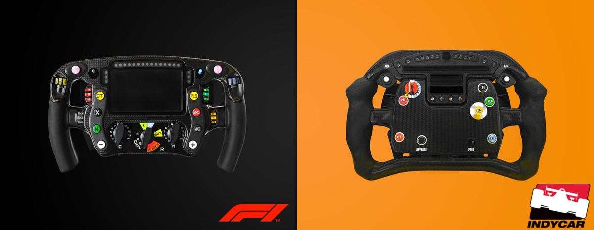 Volante F1 vs IndyCar