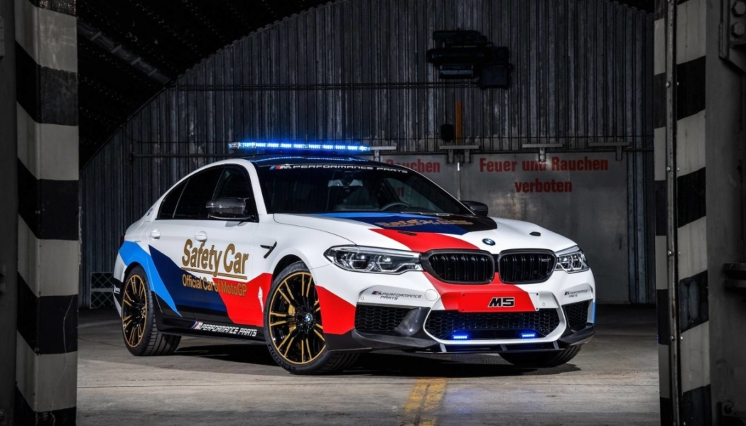 BMW M5 Safety Car Moto GP