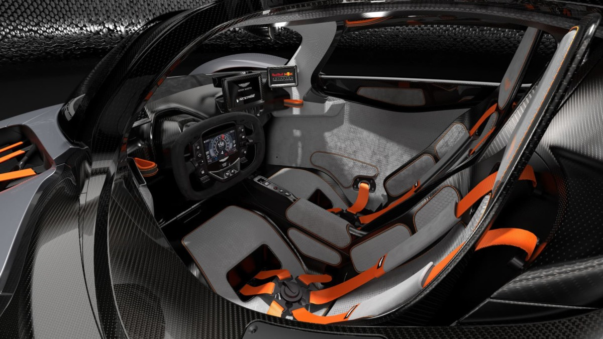 Aston Martin Valkyrie AMR Track Performance Pack Spirit Interior
