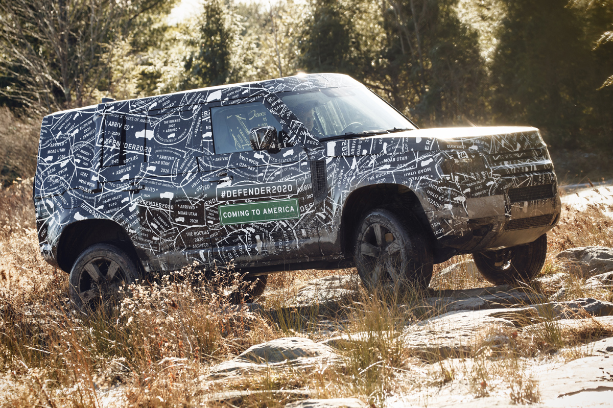 Coches 2019-Land Rover Defender
