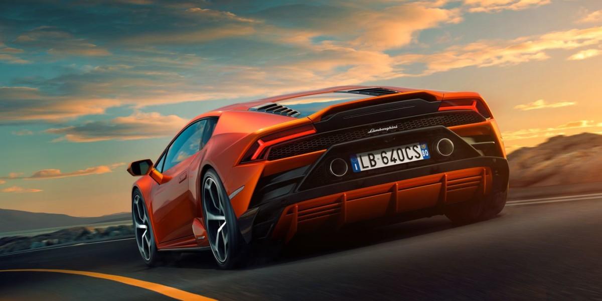 Lamborghini Huracán EVO Trasera