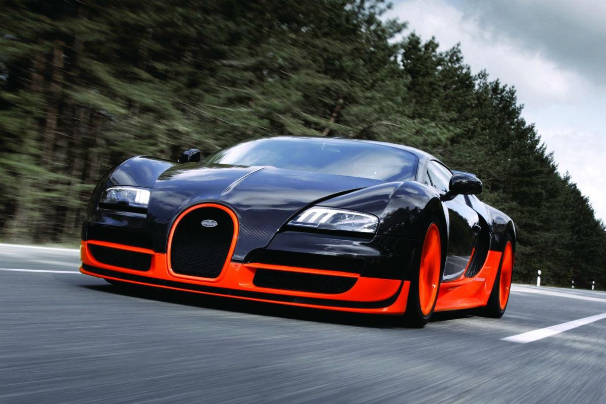 Relacion peso/potencia Bugatti Veyron Super Sport