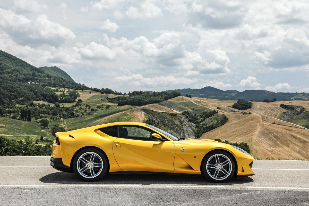 Relacion peso/potencia Ferrari 812 Superfast