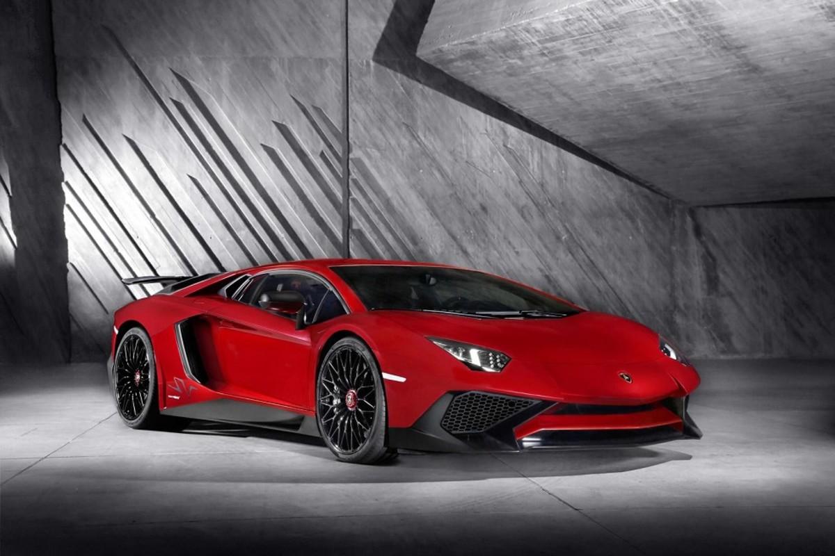 Relacion peso/potencia Lamborghini Aventador LP 750-4