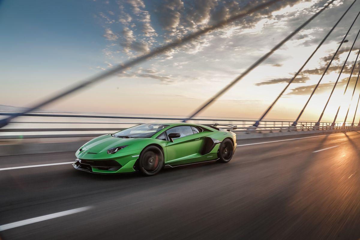 Relacion peso/potencia Lamborghini Aventador SVJ