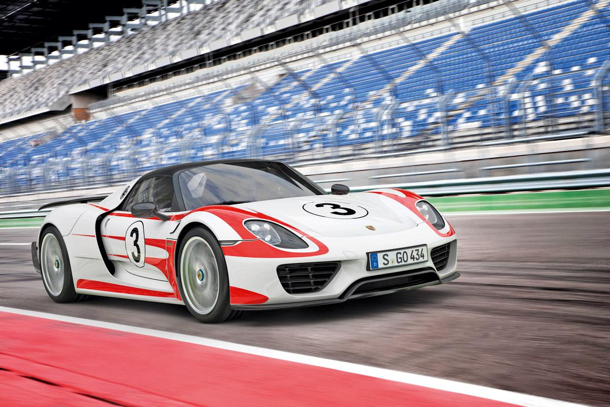Relacion peso/potencia Porsche 918 Spyder Wiessach