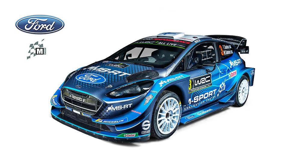 Ford Fiesta WRC M-Sport (2019)