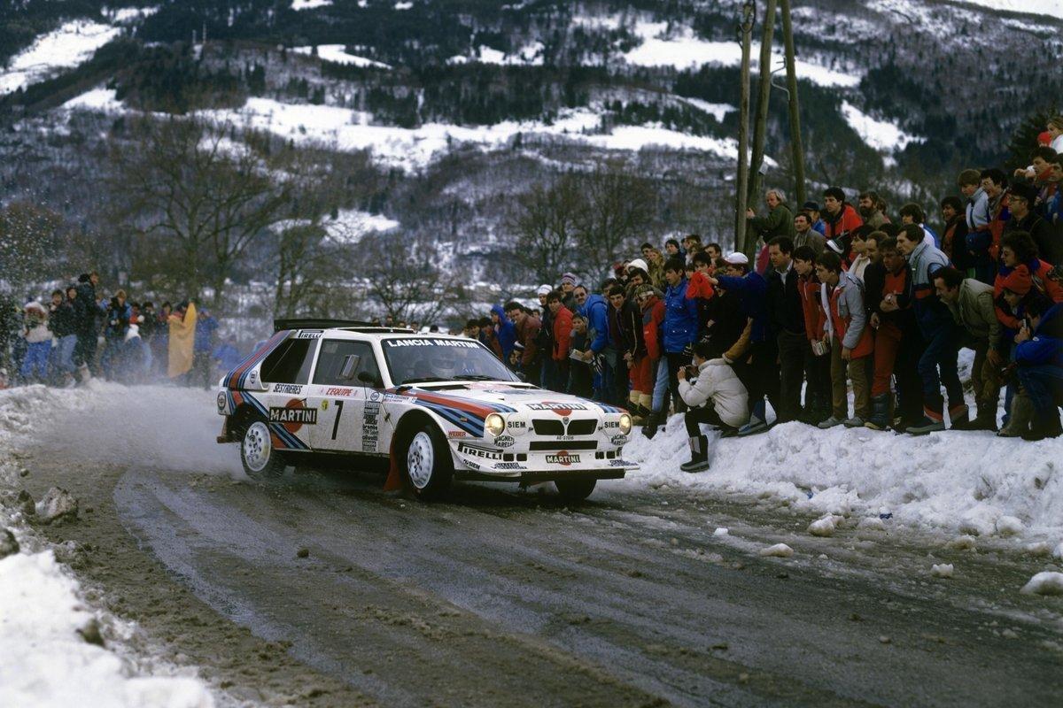 Henri Toivonen Lancia Delta S4 Grupo B