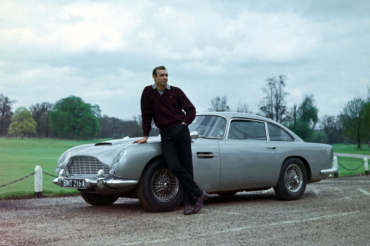 James Bond Aston Matin DB5