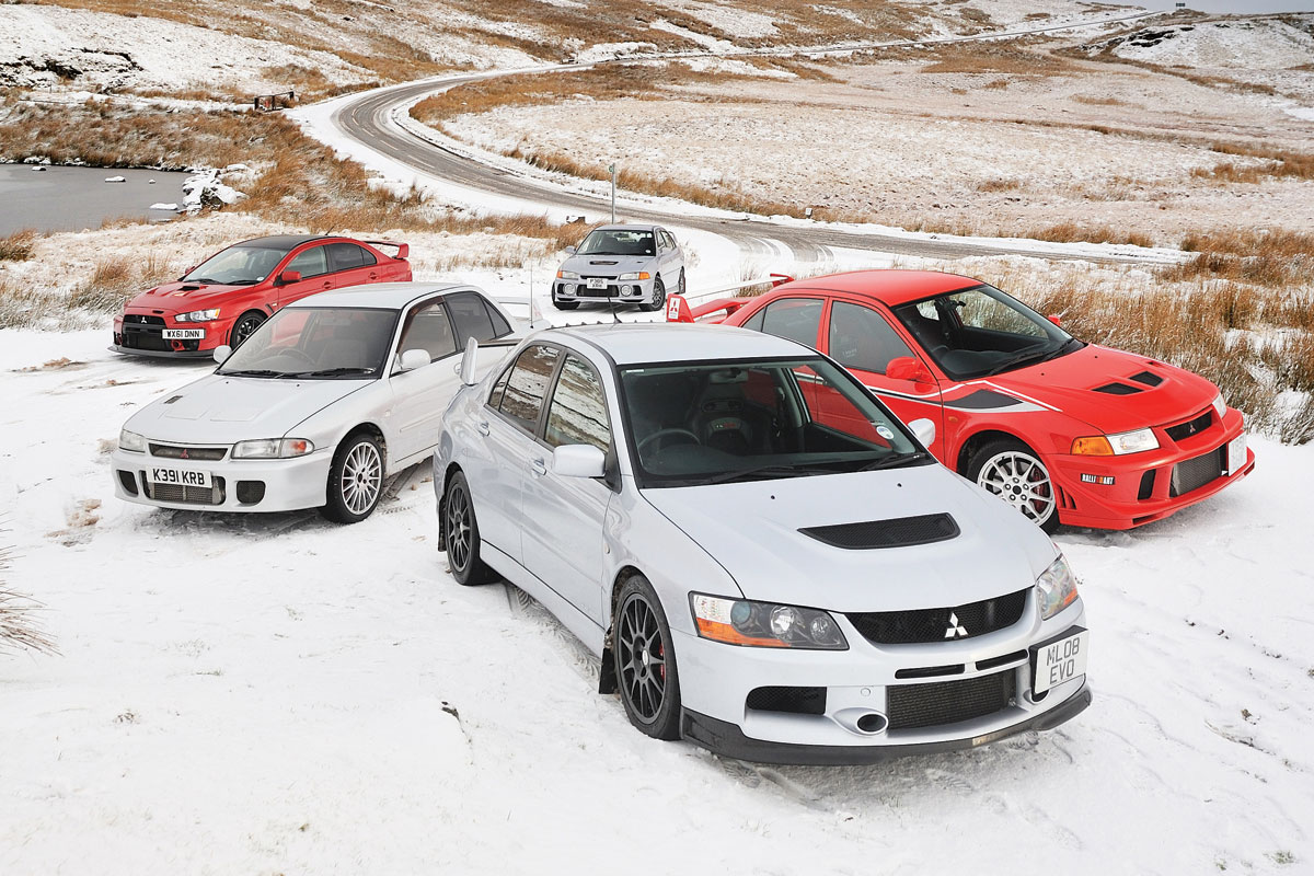 Mitsubishi-Lancer-Evos