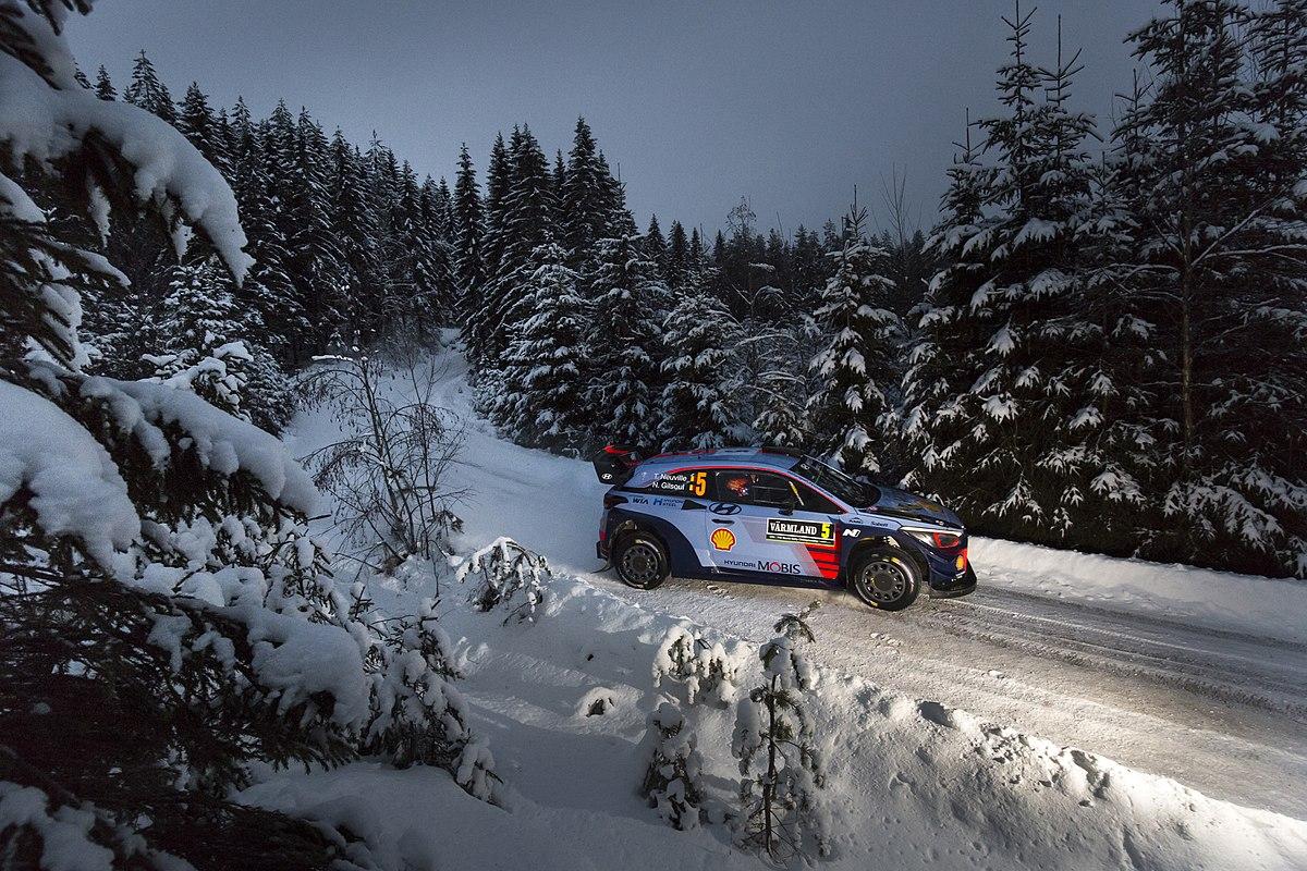 Rally Suecia WRC