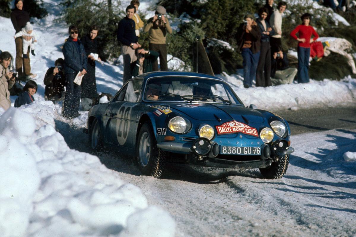 WRC 1973 Monte Carlo