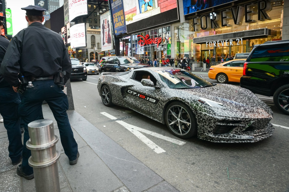 Chevrolet Corvette C8 Nueva York 2019