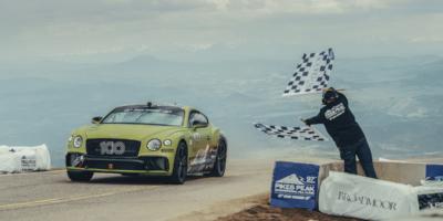 El Bentley Continental GT es el nuevo rey de Pikes Peak