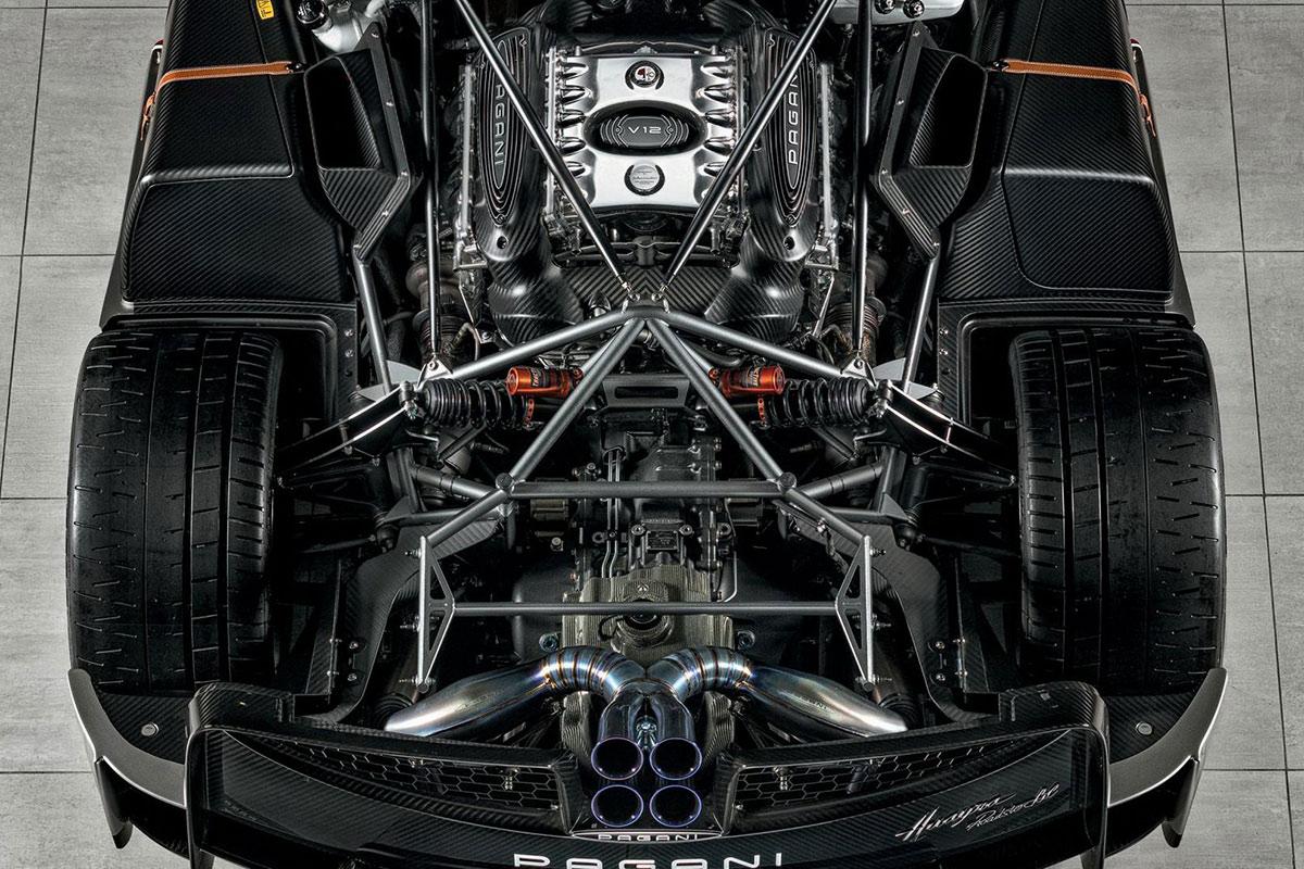 Pagani Huayra Roadster BC Motor