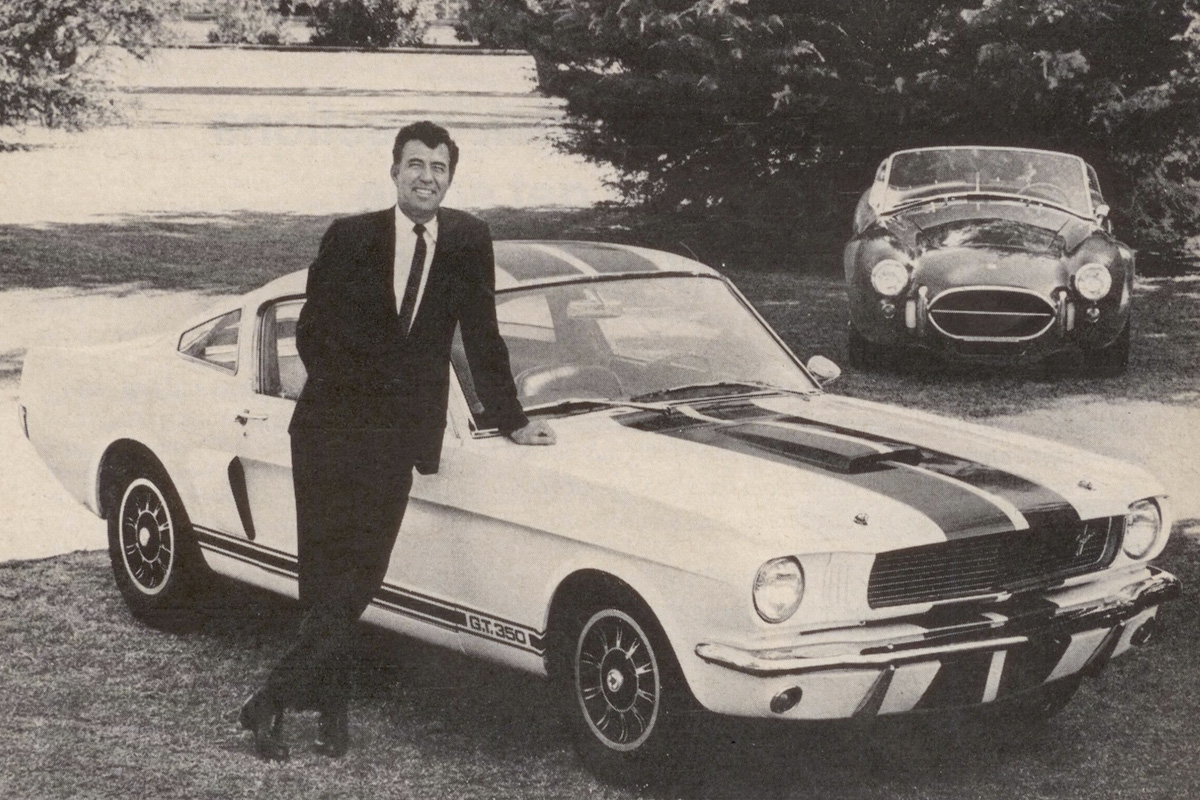 Carroll Shelby Ford Mustang GT350