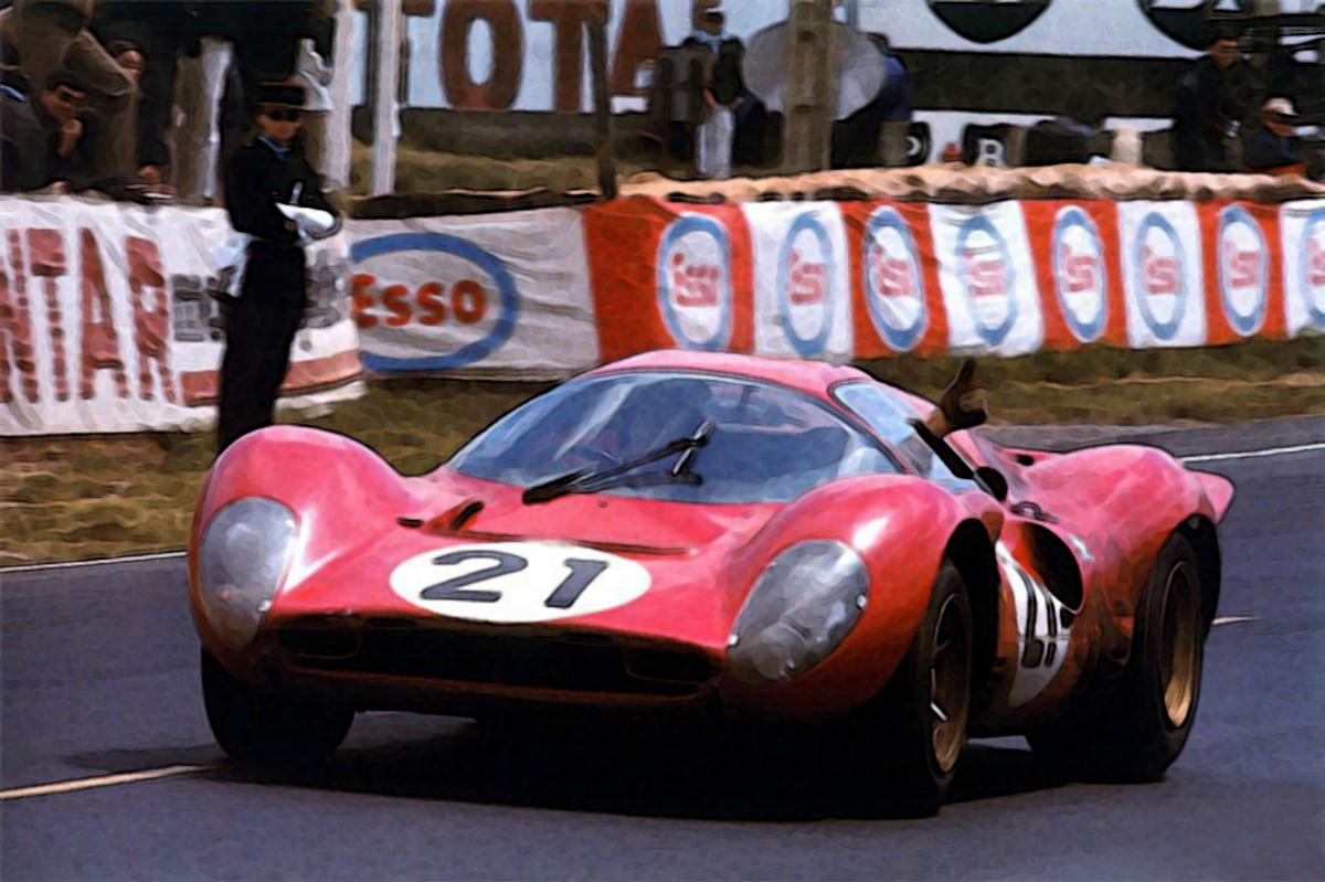 Ferrari 330 P4 Le Mans