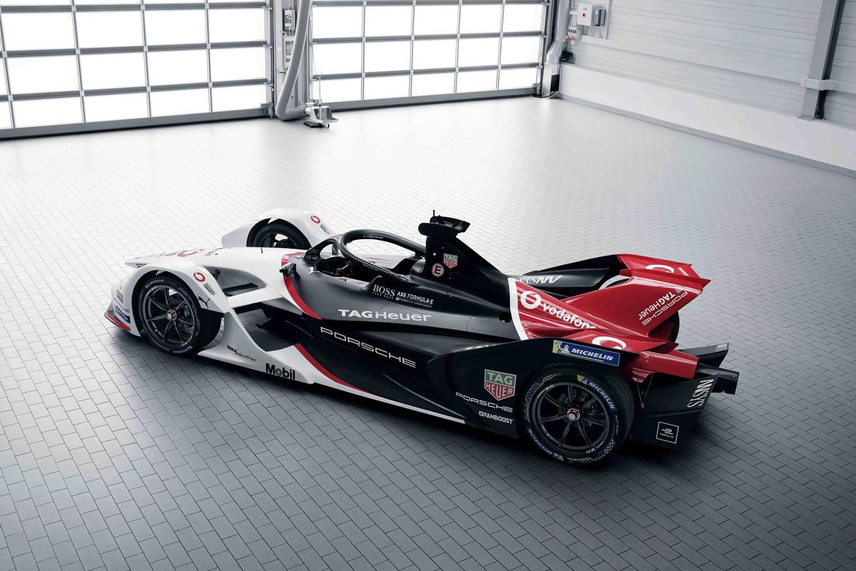 Formula E Tag Heuer Porsche FE Team