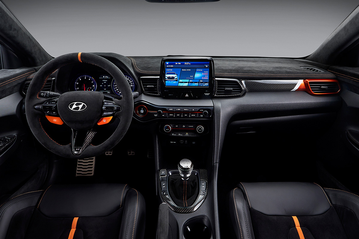 Hyundai Veloster N Performance Concept Interior