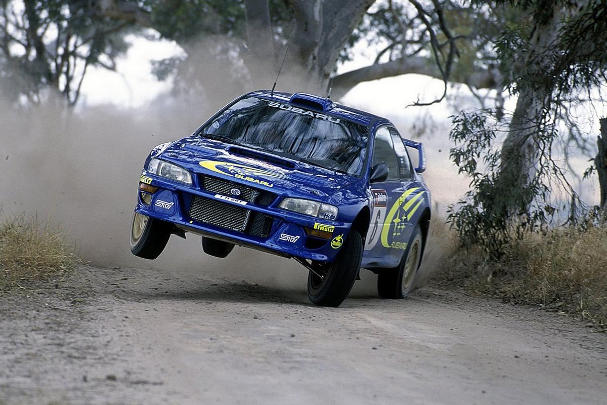Subaru Impreza WRC 555 Prodrive