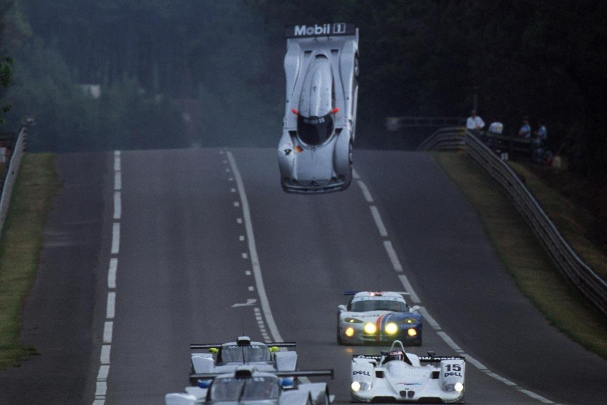 Accidente Mark Webber en Le Mans