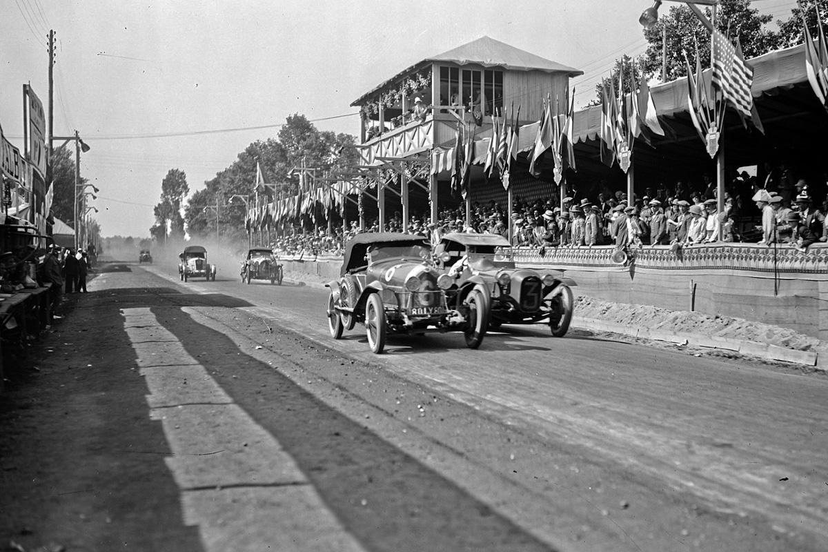Circuito de Le Mans en 1924