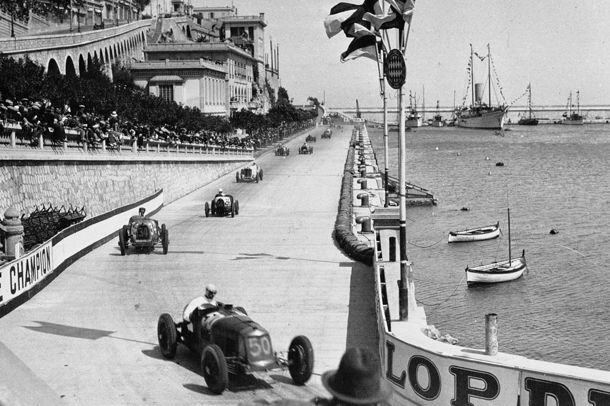 Historia del circuito de Mónaco