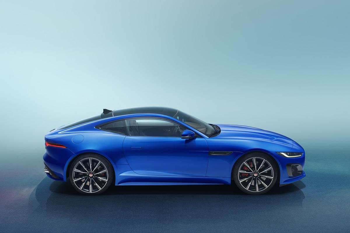 Jaguar F Type 2021 Perfil