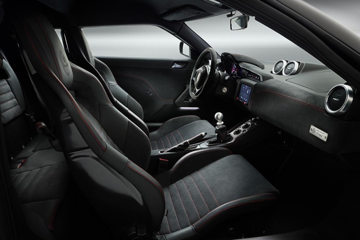 Evora GT 410 Sport Interior manual