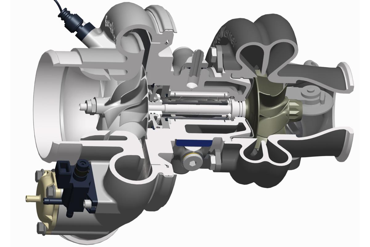 Turbo compresor y válvula de alivio