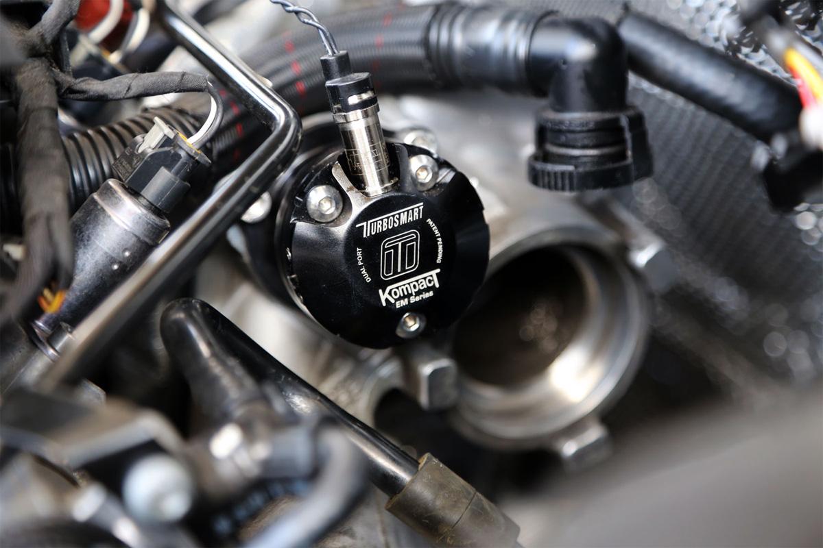 Valvula bypass turbo