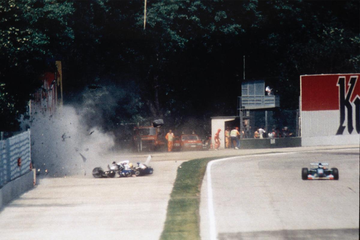Ayrton Senna accidente