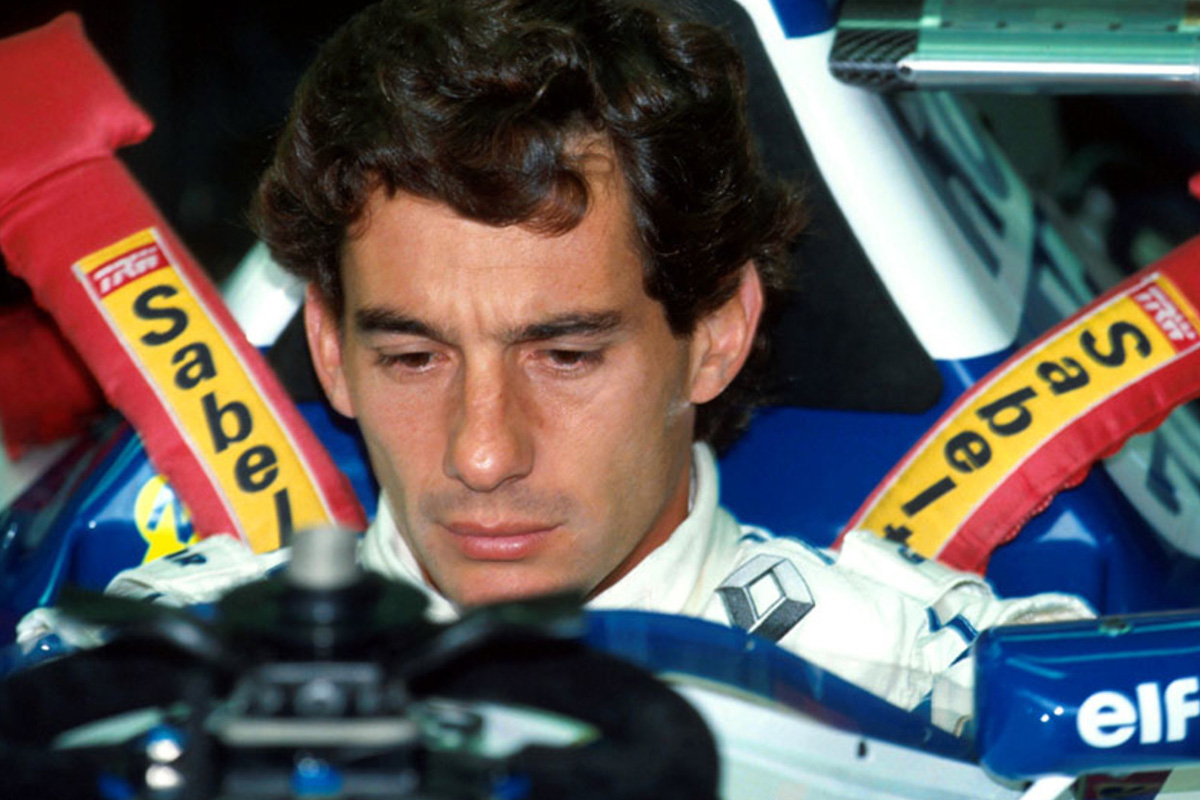 Ayrton Senna con Williams Renault